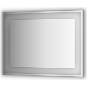 Зеркало в багетной раме поворотное Evoform Ledside со светильником 25,5 W 100x75 см (BY 2205) тиски stalex горилла 100x75 мм