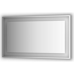 Зеркало в багетной раме Evoform Ledside со светильником 31,5 W 130x75 см (BY 2208) зеркало evoform ledline 100х75 см со встроенным led светильником 7 w by 2107