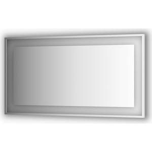 Зеркало в багетной раме Evoform Ledside со светильником 33,5 W 140x75 см (BY 2209) зеркало evoform ledline 100х75 см со встроенным led светильником 7 w by 2107