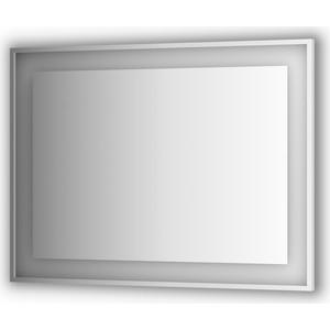 Зеркало в багетной раме поворотное Evoform Ledside со светильником 32,5 W 120x90 см (BY 2212) 120x90