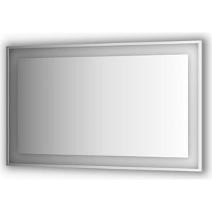 Зеркало в багетной раме поворотное Evoform Ledside со светильником 38 W 150x90 см (BY 2213) цены