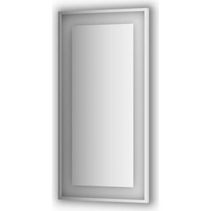 Зеркало в багетной раме поворотное Evoform Ledside со светильником 26,5 W 60x120 см (BY 2214) цены онлайн