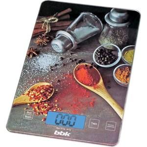 Кухонные весы BBK KS100G чер фен bbk bhd3230i чер красн
