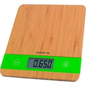 Фотография товара кухонные весы Polaris PKS 0545D Bamboo (660151)