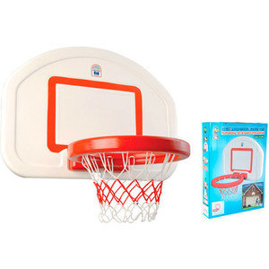 Баскетбольное кольцо Pilsan со щитом (03-389) спортивный инвентарь самсон кольцо баскетбольное со щитом