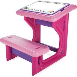 Детская парта Pilsan Study Desk New цвет роз/фиол (03-410)