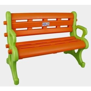 Детская скамейка Pilsan цвет зелено-оранжевый (06-143)