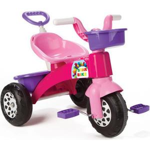 Детский велосипед с контролем Pilsan Star Фиолетовая рама с розовыми деталями (07-137)