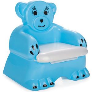 Детский горшочек-кресло Pilsan Bobo цвет голубой (07-505) pilsan pilsan дорожные знаки мини