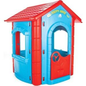 Игровой домик Pilsan Happy House сине-красный (06-098) грузовик pilsan delta truck цвет зеленый 06 506