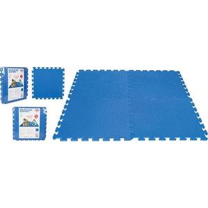 Игровой коврик 4-х секционный Pilsan Eva Play Ma Синий (03-435) ограждение pilsan play 06 145