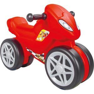 Каталка-мотоцикл Pilsan Mini Moto в подарочной коробке, красный (06-809) трехколесный велосипед pilsan yumurcak в подарочной коробке цвет красно белый 07 143