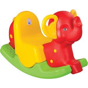 Качалка Pilsan Слон красно-зеленый (06-165) каталки pilsan качалка слон