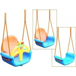 Качели подвесные Pilsan Do-Re-Mi цвет голубой-оранжевый (06-118) цена и фото