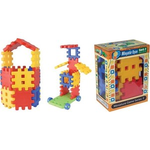 Конструктор Pilsan Miniature 36 деталей (03-110) конструктор pilsan master blocks 52 дет 03 450