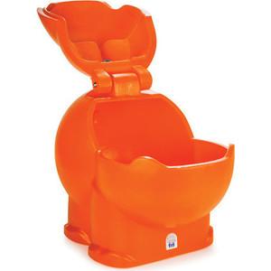 Контейнер для игрушек Pilsan Бегемот оранжевый (06-188)