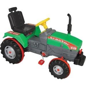 Фотография товара педальная машина Pilsan Chained Tractor цвет зеленый (07-294) (660374)