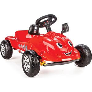 Педальная машина Pilsan Herby с сигналом цвет красный (07-302)