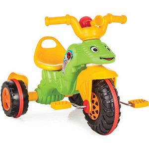 Трехколесный велосипед Pilsan Buggy зелено-желтый (07-163)