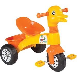 Трехколесный велосипед Pilsan Ducky цвет желто-оранжевый (07-147)