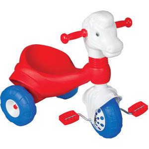 где купить Трехколесный велосипед Pilsan Pony в пакете цвет красно-белый (07-157) дешево