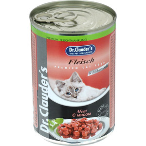 Консервы Dr.Clauder's Meat in Delicate Sauce с мясом кусочки в соусе для кошек 415г delicate noctilucence hollow out geometric shape pendant necklace