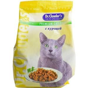 Сухой корм Dr.Clauder's с курицей для кошек 15кг корма и питание