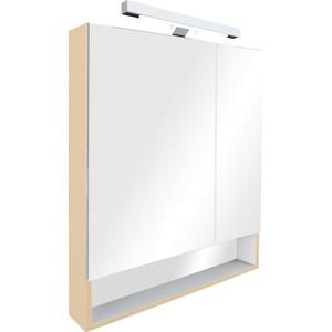 Зеркальный шкаф Roca Gap 70 бежевый (ZRU9302699) зеркальный шкафчик roca the gap 70 см белый zru9302749