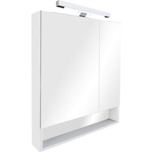 Зеркальный шкаф Roca Gap 80 белый пленка (ZRU9302750) зеркальный шкафчик roca the gap 70 см белый zru9302749