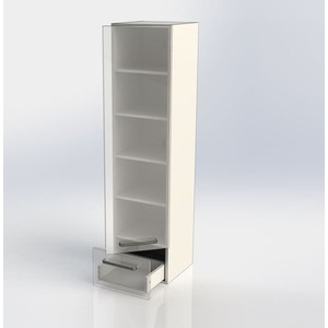 Пенал Aquanet Сиена 40 R белый (189240) пенал aquanet сиена 40 r белый 189240