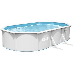 Стальной овальный бассейн Bestway 56369 BW Hydrium Oval Pool Set 610х360х120 см