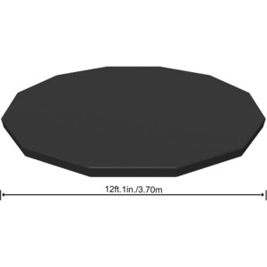 Тент Bestway 58037 для каркасного бассейна 366см (d 366см) bestway 58037
