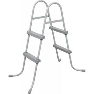 все цены на Лестница Bestway 58430 для бассейнов до 84см, 2 ступеньки, без площадки онлайн