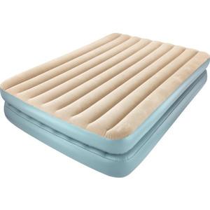 Надувная кровать Bestway 67477 SleepLux Elevated Airbed(Queen) 203х152х41 см со встроенным насосом, с фиксацией