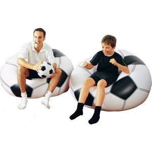 Надувное кресло Intex 68557 108х110х66см Футбольный мяч мяч футбольный select talento арт 811008 005 р 3