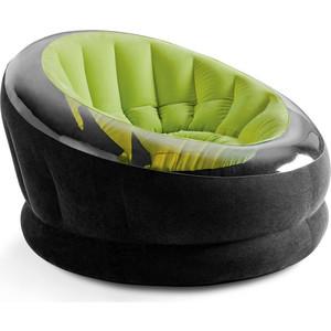 Надувное кресло Intex 68581 Empire Chair, 112х109х69см, зеленый