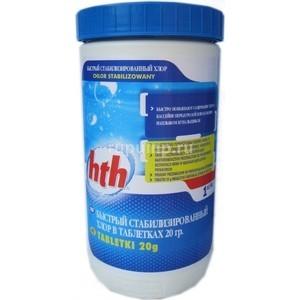 Быстрый стабилизированный хлор HTH C800611H2 в таблетках по 20гр. 1,2кг