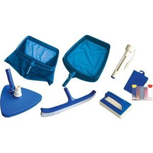 Набор для чистки бассейна Kokido K267CS Classic 7 предметов (2 сачка, 3 щетки, тестер, термометр)