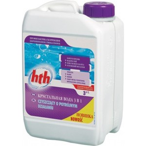Кристальная вода HTH L800714H2 три в одном 3л