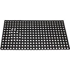 Коврик резиновый Vortex 80х120х1,6 см ячеистый грязесборный 20003