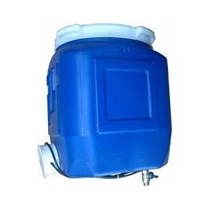 Фотография товара электрическая бочка Водогрей для душа 45л 1,5кВт квадратная (38311) (662205)
