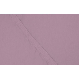 Простыня Ecotex трикотаж на резинке 90x200x20 см (ПРТ09 фиолетовый)