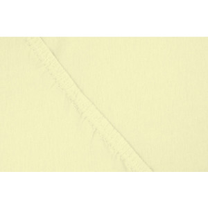 Фотография товара простыня Ecotex трикотаж на резинке 160x200x20 см (ПРТ16 желтый) (662240)