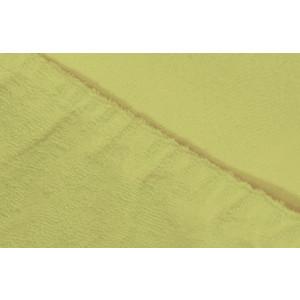 Простыня Ecotex махровая на резинке 140х200х20 см (ПРМ14 салатовый)
