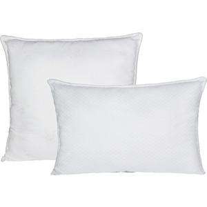 Подушка Ecotex Лебяжий пух-Комфорт 68х68 (ПЛСК77) евро одеяло ecotex лебяжий пух комфорт 200х220 олске