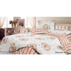 Подробнее о Комплект постельного белья Ecotex 1,5 сп, сатин, Венский вальс (КГ1Венский вальс) вальс 2 стенка с подсветкой
