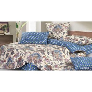 Комплект постельного белья Ecotex 1,5 сп, сатин, Сюссан (КГ1Сюссан)  - купить со скидкой
