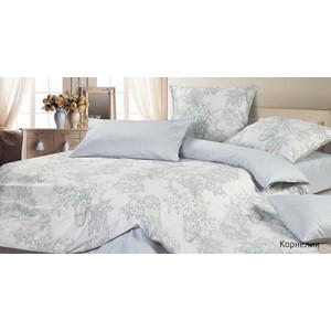 Комплект постельного белья Ecotex 1,5 сп, сатин, Корнелия (КГ1Корнелия) комплект постельного белья ecotex 2 х сп поплин портленд кпмпортленд