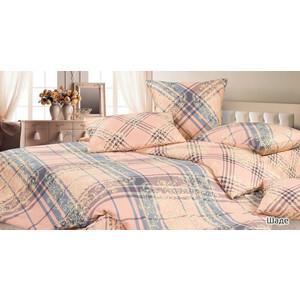 Комплект постельного белья Ecotex Евро, сатин, Шаде (КГЕШаде)  - купить со скидкой