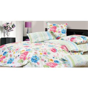 Комплект постельного белья Ecotex 1,5 сп, сатин, Розалия (КГ1Розалия) комплект постельного белья ecotex 2 х сп сатин персей кгмперсей